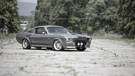 Ford Mustang GT500 Shelby Eleanor серебристый