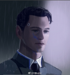 Detroit: Become Human, арт, RK800, Connor